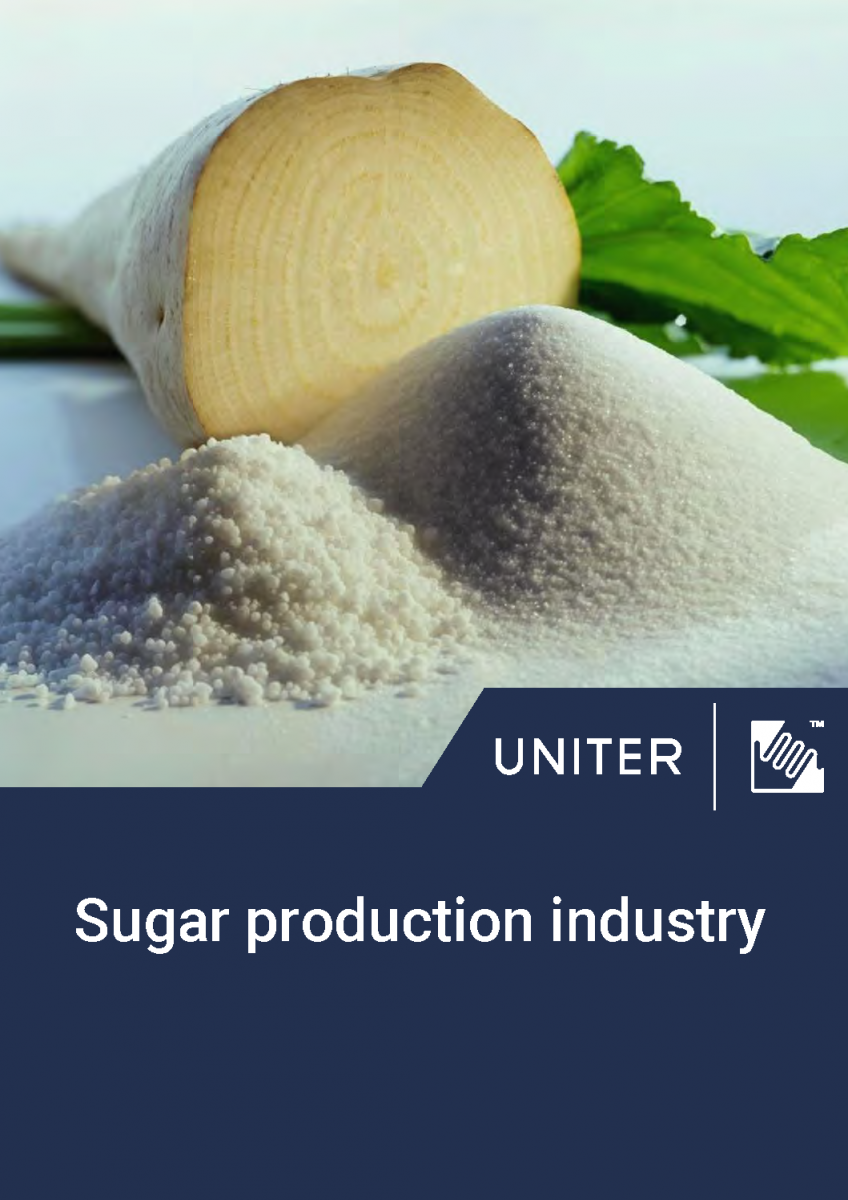 Sugar production industry