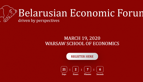 Belarusian Economic Forum (BEF) in Warsaw 2020